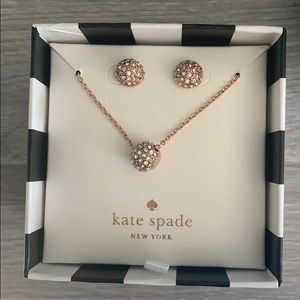 Earring and necklace gift set
